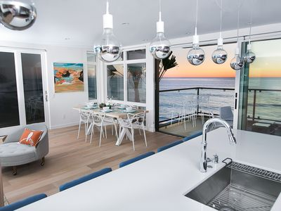 Photo for VIEWS  VIEWS!  Ocean Front Penthouse Condo - NO ELEVATOR USE