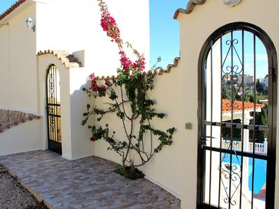 Photo for New for 2019 ! Lovely Large Villa with Sea Views and Private Pool near Moraira