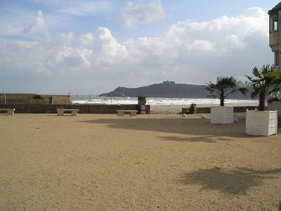 Photo for Sea view apartment located 50 meters from a sandy beach
