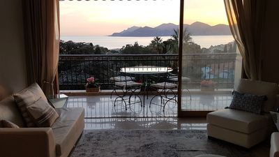 Photo for Serene Upmarket Apartment With Views, 450m from Beach and 700m from The Old Town