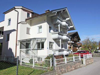 Photo for Cozy large apartment in the middle of Uderns with ski bus in front of the door