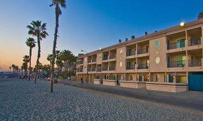 Photo for BEACHFRONT CONDO at Oceanside, CA. You are less than 50 feet from the sand!