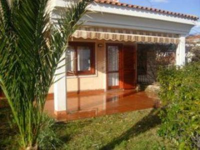 Photo for Stintino- Villa with lovely garden, sea view, for 5 people.
