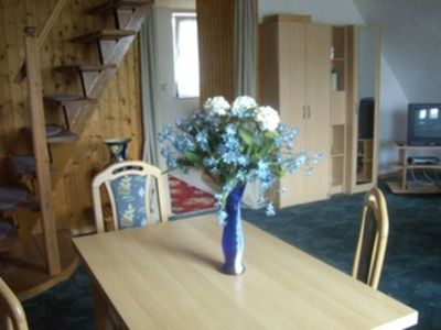 Photo for Upper floor apartment / terrace - village holiday