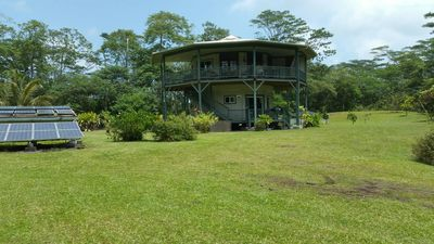 Photo for Tropical Round House On Big Island Of Hawaii