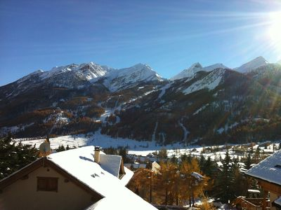 Photo for Serre Chevalier 1500 - Chalet 5 * breathtaking view and on the route of the Tour de Franc