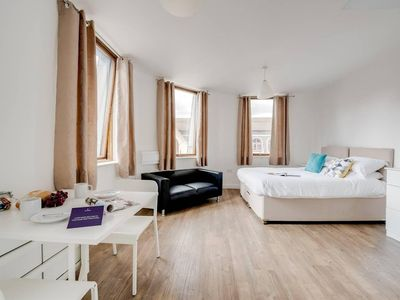 Photo for Beautiful studio with city views, in Liverpool!
