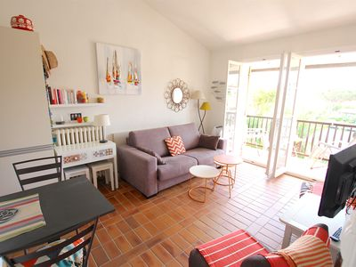 Photo for 2-room apartment close to the beach - large balcony