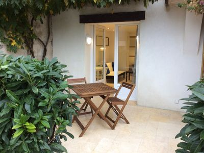 Photo for Apartment T1 - Charming Villa 850 meters from the beach