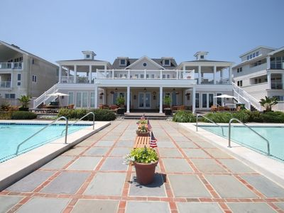 Photo for Ocean Block Town Home with Two Pools, Tennis and Free Activities Inc. Golf, Water Park and More!