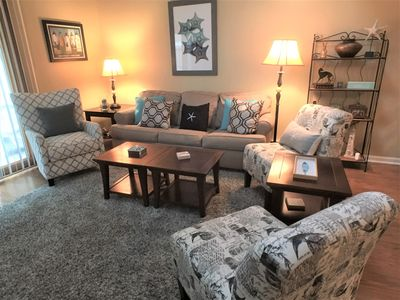 Photo for Ocean Edge Townhouse, King Bed, Renovated, 2 A/Cs, 6 Pool Passes (Fees Apply) - BI0085