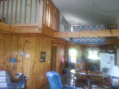 Free wifi, Flat screen TVs in den & each BR.   Electric heat, wood stove, no A/C
