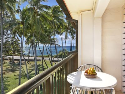Photo for Kauai Prince Kuhio 307 *Magnificent Sunrise Ocean View on 3rd floor*