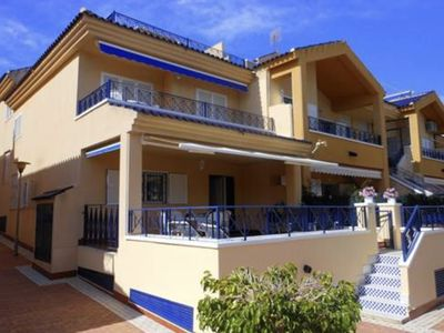 Photo for Family villa, 3 bed 2 bath. Communal pool, 600m to beach. .