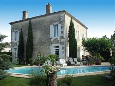 Photo for Beautiful Imposing Maison De Maître. Wonderful Pool and Secure Private Gardens.