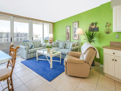 Photo for 2 BR 2 BA Ocean Front Condo with a Pool!