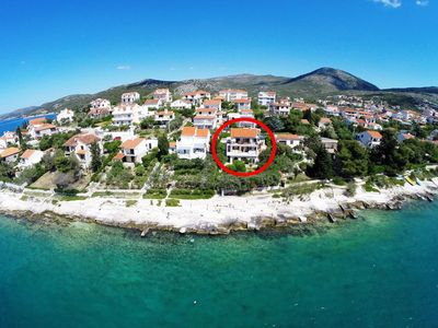 Photo for Apartment in Seget Vranjica (Trogir), capacity 4+3