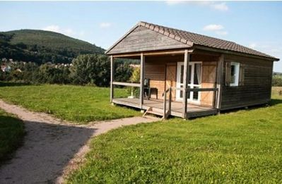Photo for Camping Oasis *** - Chalet Pré Vert 3 Rooms 4/6 People