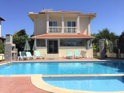 Photo for Lazy Duck Villa Large stylish, high spec private villa with pool, close to shops