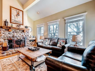 Photo for Warm up in this cozy condo - just three blocks from Park City Mountain Resort!