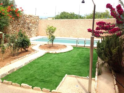 Photo for Picturesque typical Mallorcan house with pool S. XIX