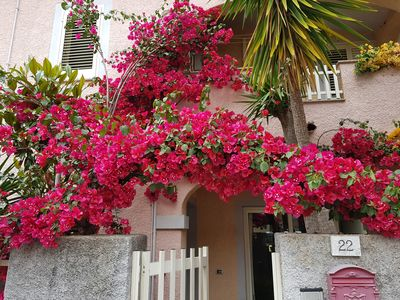 Photo for Pretty house with garden to 10 minutes from the beautiful beaches of the Costa.