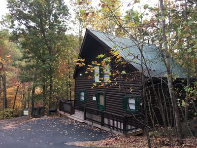 Photo for LOCATION! Cozy Cabin Perfectly located between Pigeon Forge and Gatlinburg