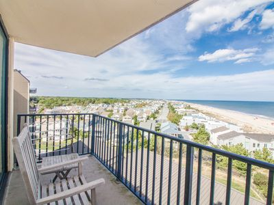 Photo for A802: 1BR Sea Colony Oceanfront Condo! Private Beach, Pools, Tennis ...