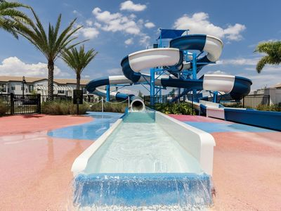 Photo for Resort Home w/ Private Pool, Bar and Grill, Water Park, And Zero Entry HEATED Pool!