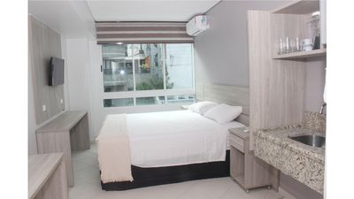 Photo for luxury apartment facing the sea air conditioning Brand new.