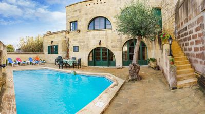 L-Ghorfa Taz-Zebbuga + pool which is tucked away in an alley, is a true hideaway