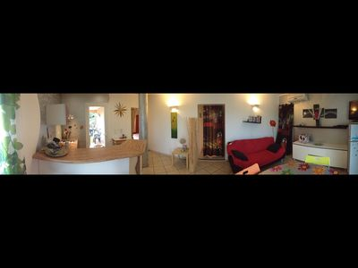 Photo for very nice apartment on the ground floor of a villa in Solenzara in CORSICA