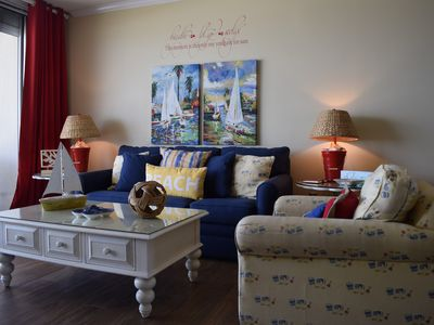 Photo for Beautiful 2 Bedroom Gulf Front Condo at Beach Club! Make Some Memories!