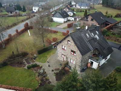 Photo for Holiday apartment Am Hohen Venn, Eifelsteig, RAVeL cycle path, burning fireplace private garden