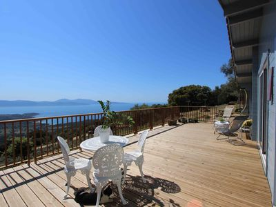 Photo for Sea View Chalet in the heart of the maquis Paomia
