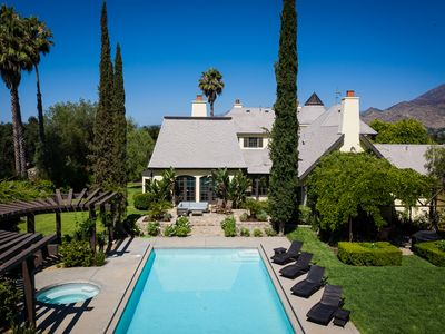 Photo for Case Grande Ojai - 5 acres & 5000 sq ft of clean fresh air & sunshine, sleeps 16