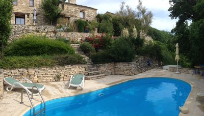 Photo for House of character in stone, private pool, lots of charm