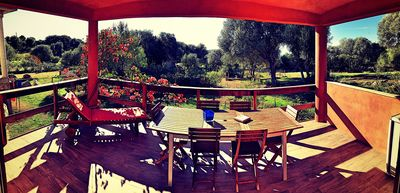Photo for HOUSE CASA ROSSA, F2, 37m2 + covered terrace 20m2, Clim, Wifi, parking.
