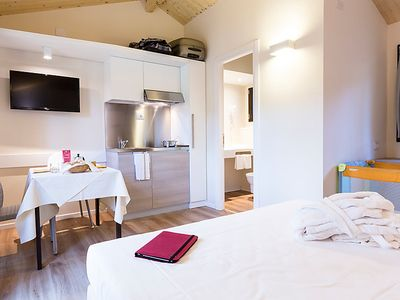 Photo for Vacation home Paradù Resort in Marina di Castagneto - 2 persons, 1 bedrooms