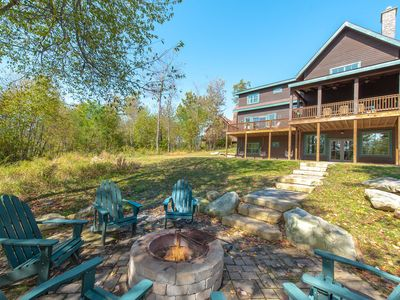 Photo for Wooded Ski In/Ski Out Home w/Hot Tub, Fire Pit, & Outdoor Fireplace!