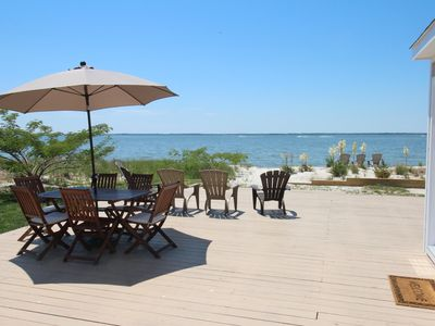 Photo for Private Sandy Beach & Amazing Water Views