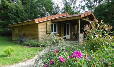Photo for LE FAY: Chalet LE SARCELLE on the edge of a pond in the heart of nature