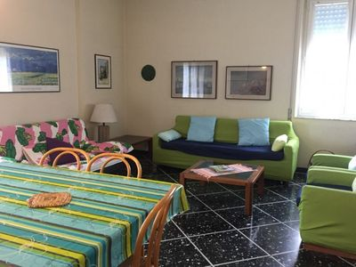 Photo for Two bedrooms apartment in the heart of Levanto