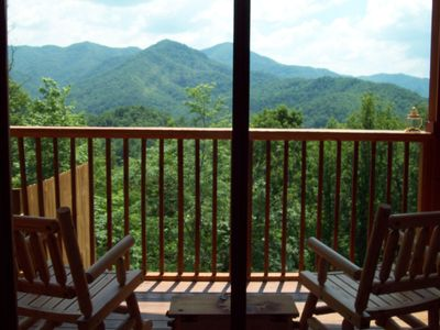 Photo for Magical Mountain Views-Sparkling Hot Tub-Hiking and Fishing-NOC 5 min.-WIFI