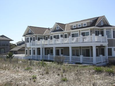 Photo for OCEANFRONT IN STONE HARBOR! BEAUTIFUL 5BR, 3-1/2BA WITH HEATED POOL & CABANA!