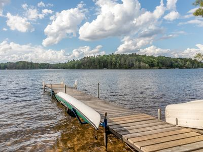 Photo for Family friendly & dog-friendly lakefront home with boathouse.