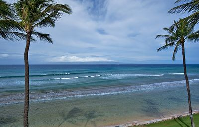 Totally unobstructed million-dollar views from our lanai.