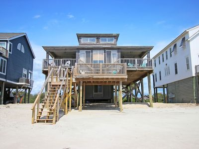 Photo for 4 bedroom Oceanfront on the South End of Pawleys Island