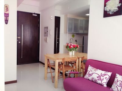 Photo for Cozy Downtown Condo Unit -near MRT