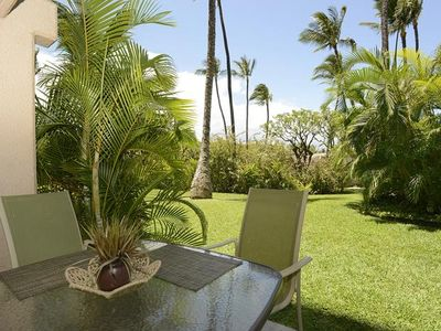 Photo for Up to 25% OFF!!  Ground Floor Garden View Condo at Kihei Akahi